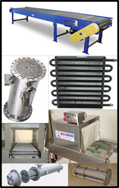 Industrial Conveyor & Heat Exchanger System