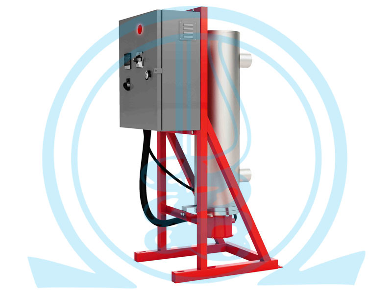 GW Vertical In-Line Circulation Heater